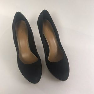 Fioni Black Suede-like pumps size 8.5